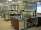 Chem-resistant compact laminate panel for laboratory