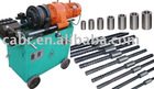 rebar splicing coupler and threading machine