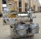 stainless oil pressing machine hot and cold press