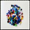 2cm glitter pom POM assorted color
