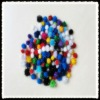 2cm glitter pom POM assorted color