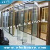 Germany style aluminum glass bi folding door