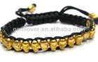 BLO023 fashion shamballa bracelet alloy skull head on sale