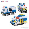 3D Blocks: Police Car (1300PCS)