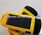 solar energy mini flashlight