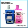 plastic kids electronic ATM money box coin box money saving box
