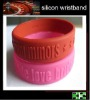 high quality of casino embossed sports silicone wristband with customer's design