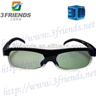 Wireless active shutter 3D TV glasses