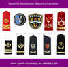 Custom colourful uniforms epaulette