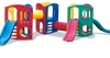fully plastic slide(plastic slide,amusement equipment,outdoor playground)