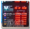 1.0' Red LED Currency Exchange Rate Display Board CRD-2106