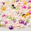 Wholesale Flatback acrylic pearl for diy jewelry decoration for nail!