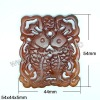 Chinese Carving pendant fish shaped pendant