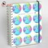 New designer spiral notebook