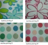 Nonwoven fabric color swatches