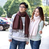 Solid/plain cashmere warm tassel pashmina shawls,unisex soft scarf