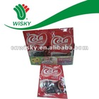 22g coca-cola flavour jelly bean candy