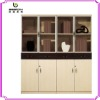 office cabinet organizer with glass swing door NS-005