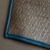 1cm thickness blue EVA camping mat