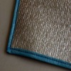 1cm thickness blue EVA camping mat