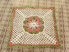 HOT! new design of crochet table mat
