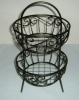 wire two layers fruit basket