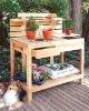 wooden Garden supermarket shelf