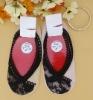 Lace Cotton Loafer Socks