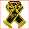100% acylic jacquard fan scarf