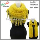 fashion cheap acrylic knitting pattern snood