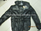 young man padding hooded winter jacket fashion 2012