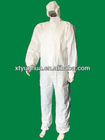 White Disposable Working Coverall