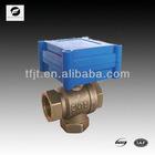 1.0A/B mini 3-way electric valve 3-6V,12V for solar heating system