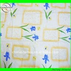 Newest flower design 100% cotton fabric printing