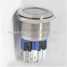 22mm Metal Antivandal Push Button Switch with LED