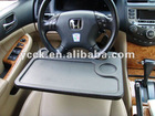 Car tray table Laptop table wheels Car steering wheel tray
