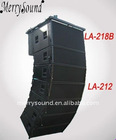active 12 inch line array systems, outdoor speaker, (LA-212A/LA-218BA)