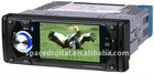 4.3inch car dvd gps player with touch screen ,detachable panel