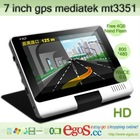 Hot Selling 7 inch GPS Mediatek mt3351 With free 4GB Nand Flash