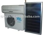 Hybrid solar air conditioning system