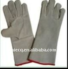 14 inch/16 inch split leather welding glove