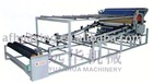 Pin stenter net belt laminating machine
