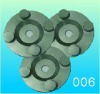 Metal polishing pad