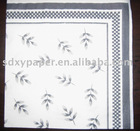 print paper serviette (colourful paper napkin,paper towel)