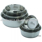 Metal pet feeders & bowls