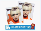 Coloring Magazine Printing with Glossy Art Paper