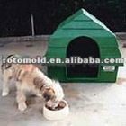 2012 TOP Sale Rotational Durable Pet products, decoration, various colors;Dog house with PE
