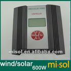 Hybrid Wind Solar Charge Controller 600W Regulator, 24VDC input