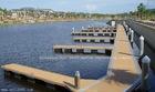 steel structure floating dock