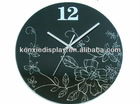 Arcylic clock wall/Clock wall clock/2012 new style wall clock